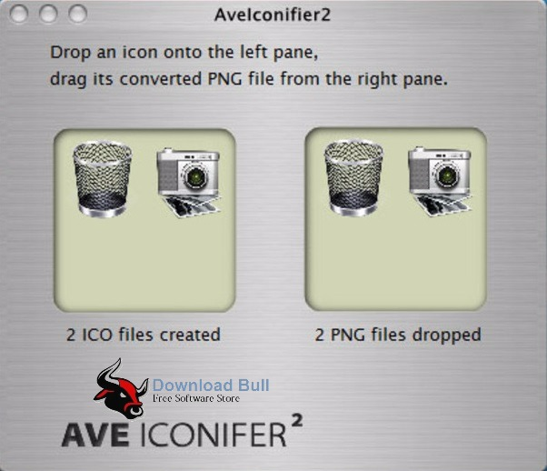 AveIconifier 2.1 User Interface