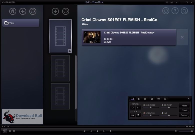 KMPlayer 4.1.5.8 User Interface