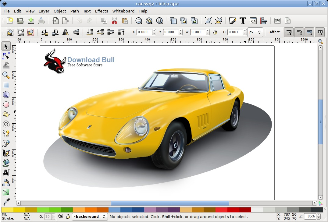 Portable Inkscape User Interface