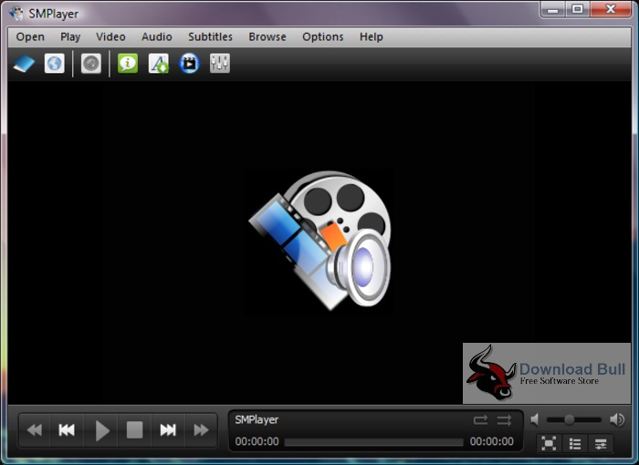 SMPlayer16.11.0 User Interface