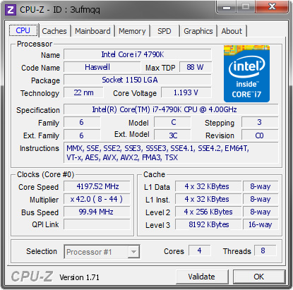 Download Portable CPU-Z 1.78.0