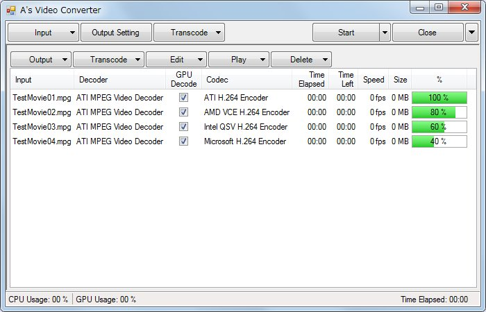 Download A's Video Converter 7.1.0 Portable