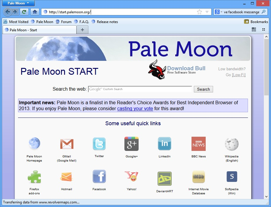 Download Pale Moon 27.2.1 Portable