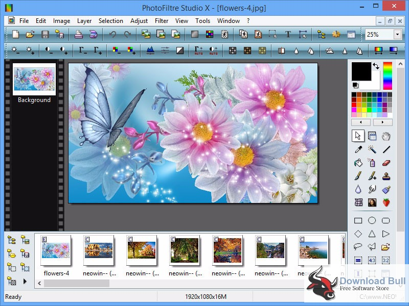 Download PhotoFiltre Studio X 10.11.0 Portable