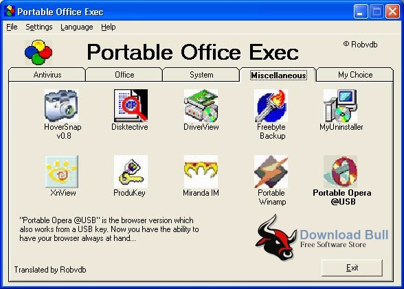 Download Portable Office Exec 1.2.8