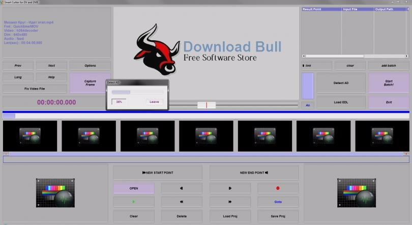 Download Smart Cutter for DV and DVB 1.9.4 Portable