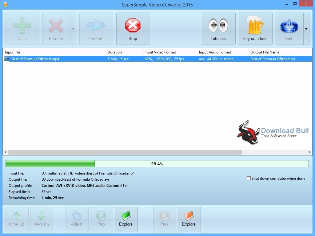 Download SuperSimple Video Converter 2015