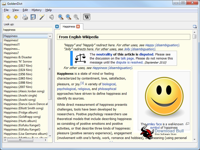 Download GoldenDict 1.0.1 Portable Rev. 2