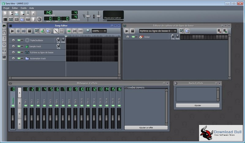 Download LMMS (Linux MultiMedia Studio) Portable 1.1.3