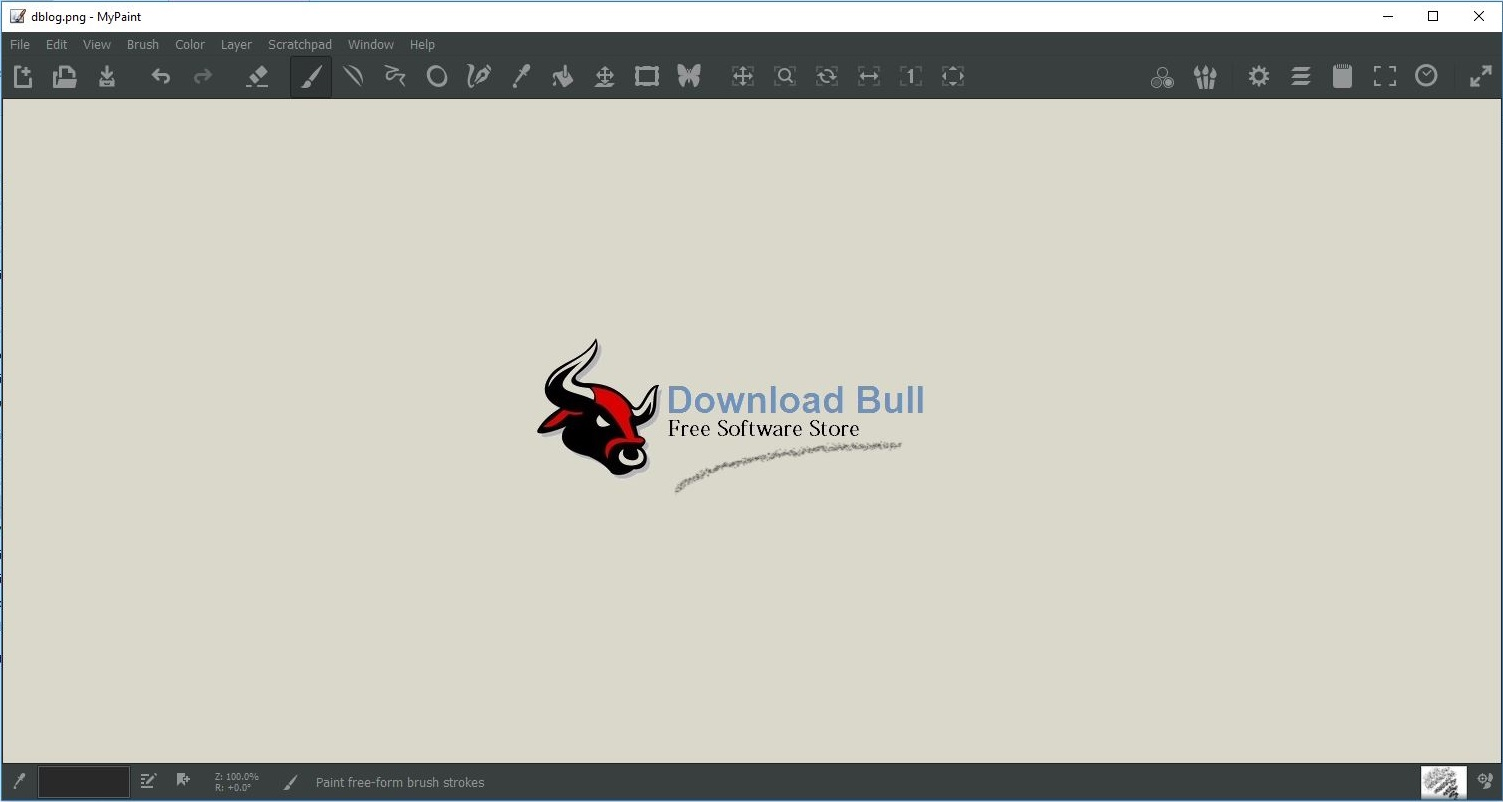 Download MyPaint Portable 1.2