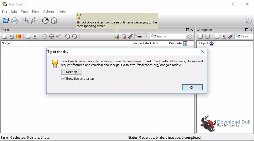Download Portable Task Coach 1.4.2 Free