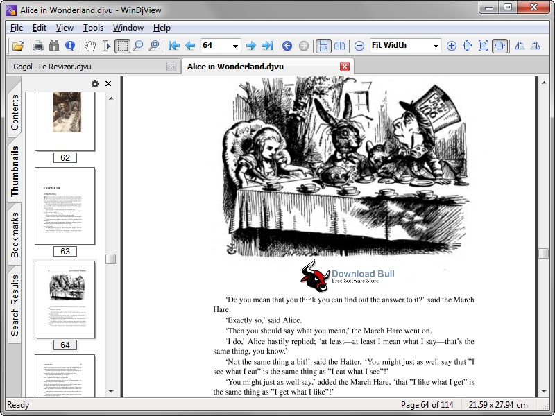 Download WinDjView Portable 2.1 Free