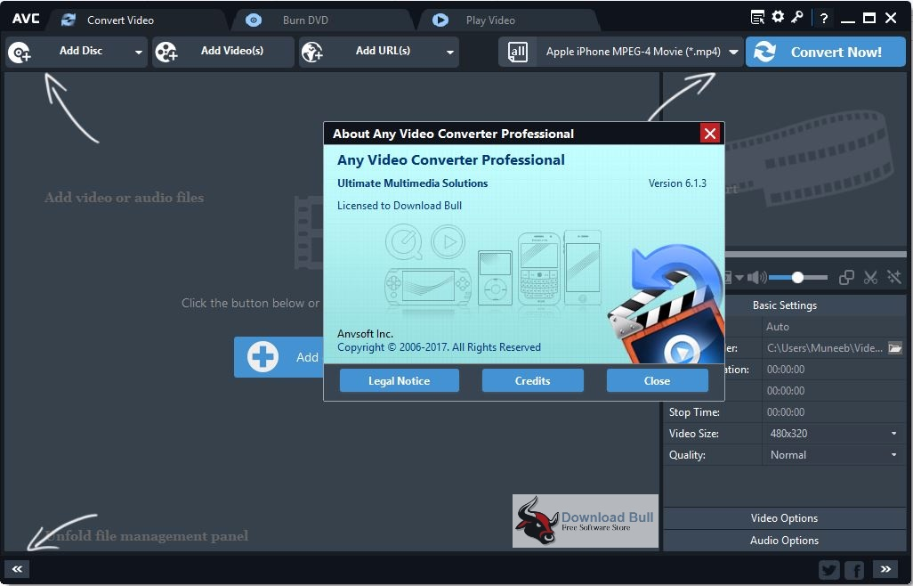 Download AVC Any Video Converter Professional 6.1.3 Portable