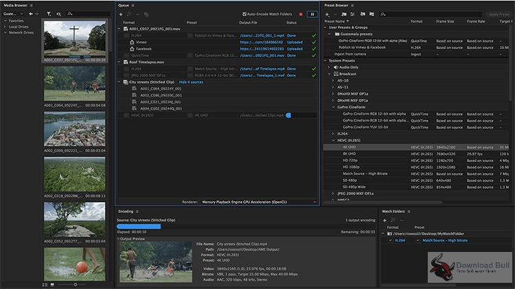 Download Adobe Media Encoder CC 2017 Portable v11.1.0