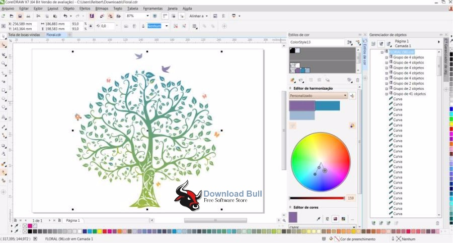 Download CorelDraw Graphics Suite X7 Portable