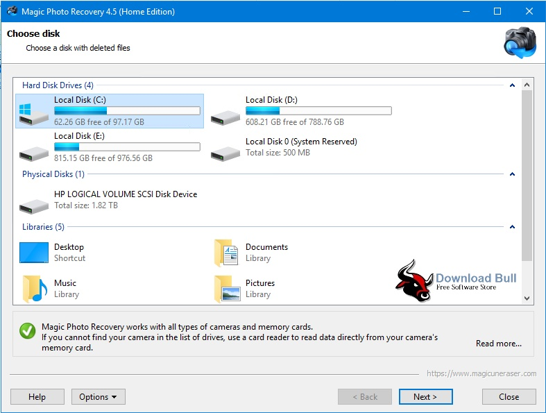 Download Magic Photo Recovery 4.5 Portable