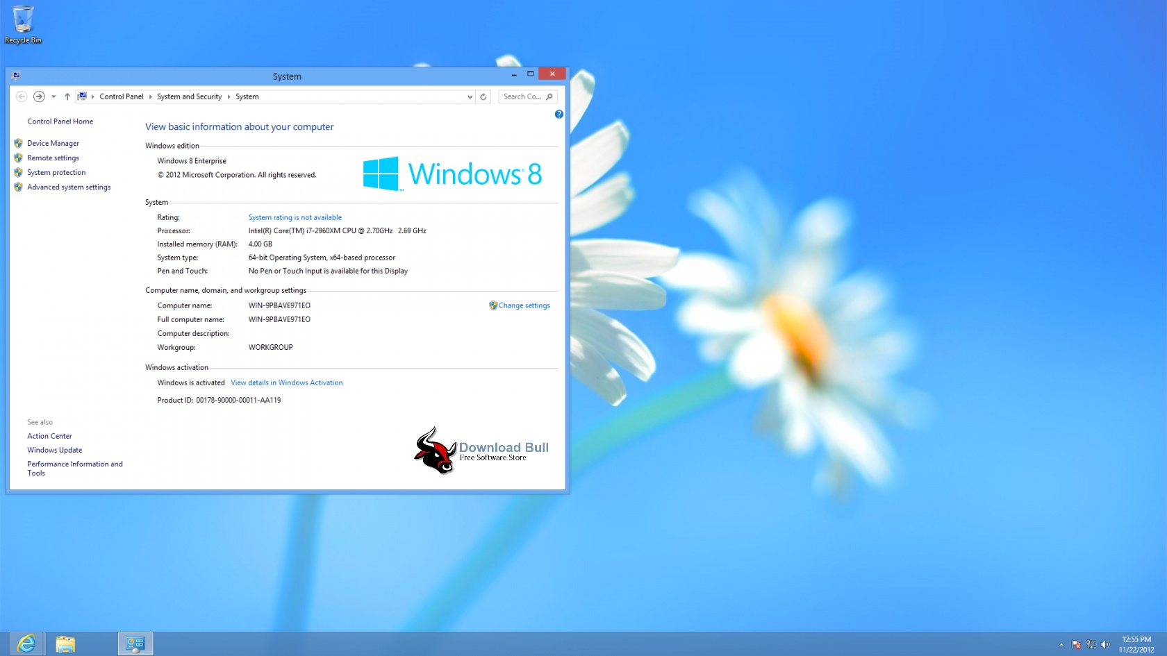 Windows 8 activator build 9200 download.