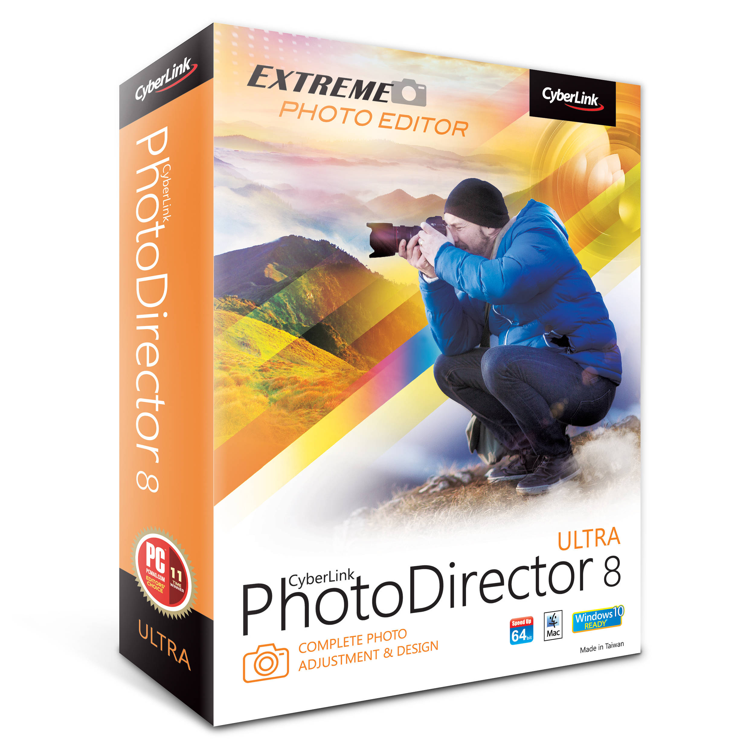 Portable CyberLink PhotoDirector Ultra 8 Free Download