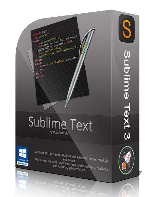 Portable SublimeText 3 Free Download