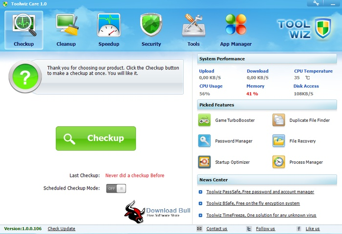 Download Toolwiz Care 4.0 Portable