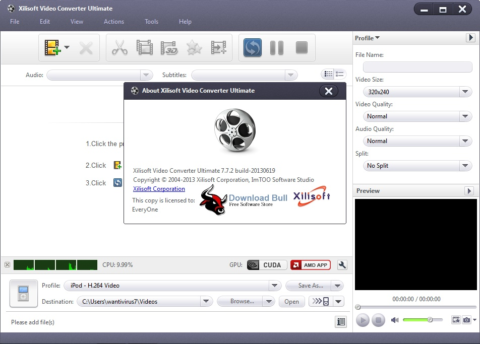 Download Xilisoft Video Converter Ultimate Portable 7.7