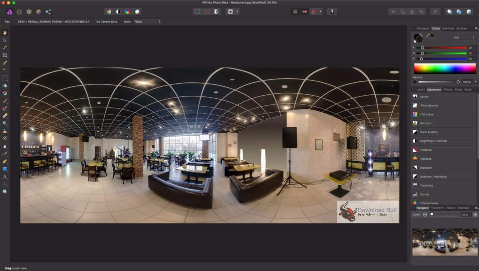 Download Affinity Photo 1.5 Portable Free