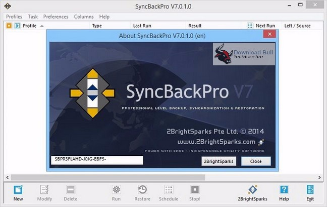 Download SyncBackPro prtable 8.1 Free