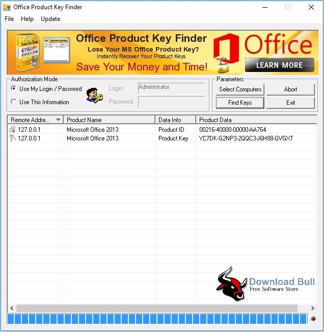 Download Office Product Key Finder 1.5 Portable