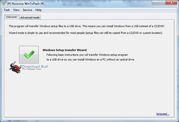 Download WinToFlash Professional 1.5 Portable Free