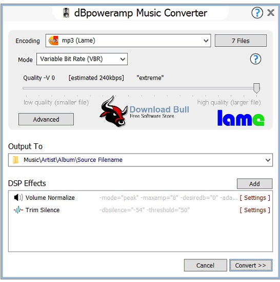 Download dBpowerAMP Music Converter Portable 16.2 Free