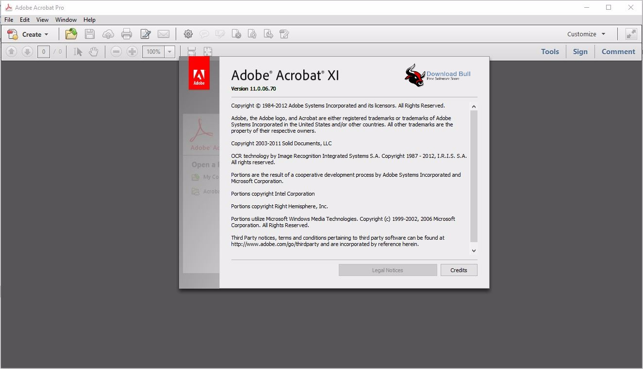 Download Adobe Acrobat Pro XI Lite Portable