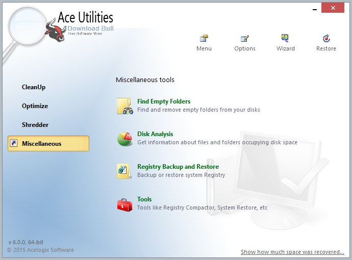 Portable Ace Utilities 6.2 Overview