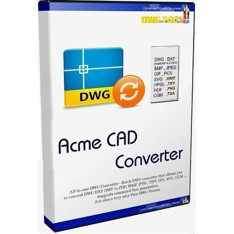 Portable Acme CAD Converter 2018 8.9 Professional Overview