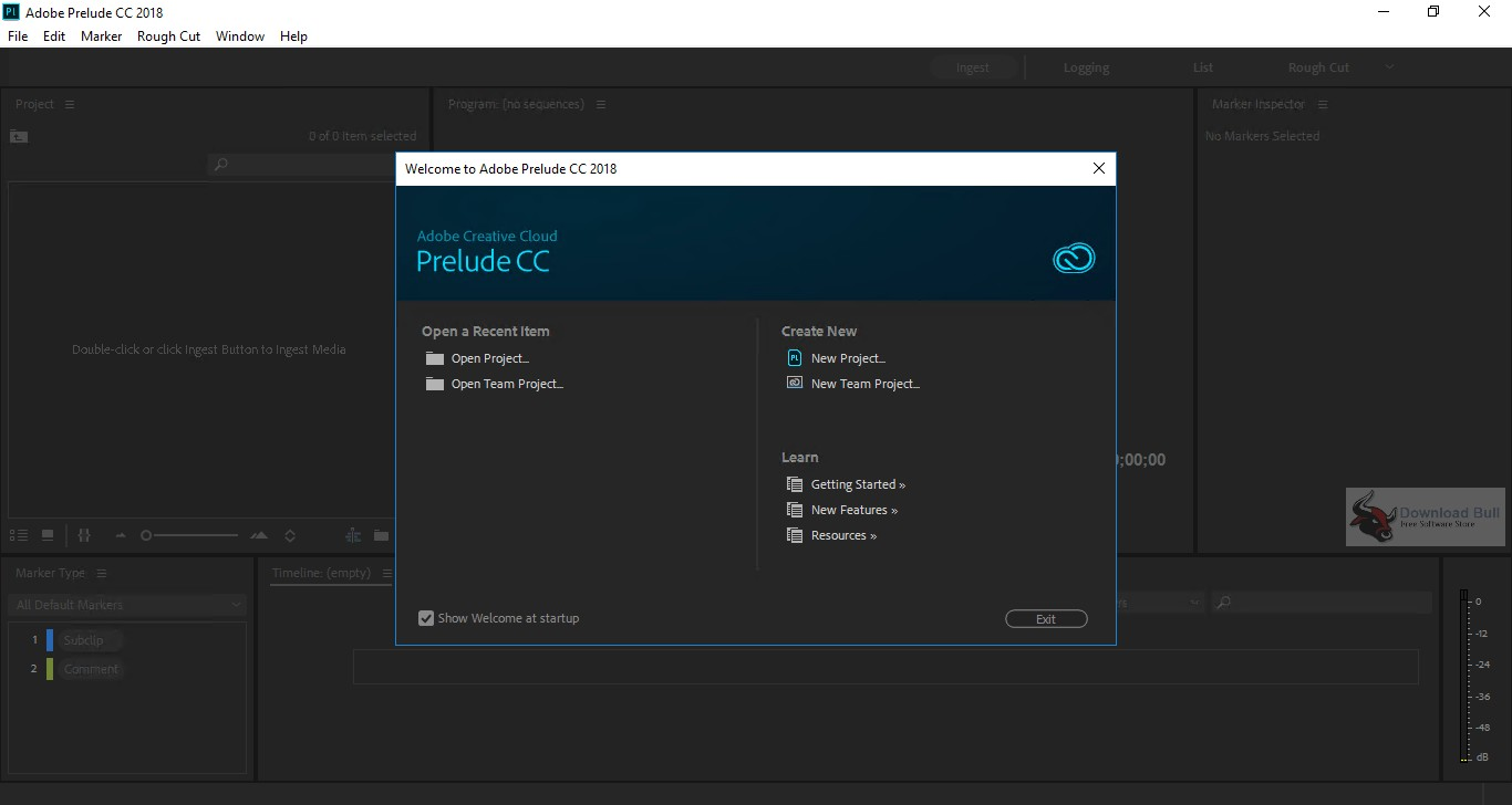 Portable Adobe Prelude CC 2018 Overview