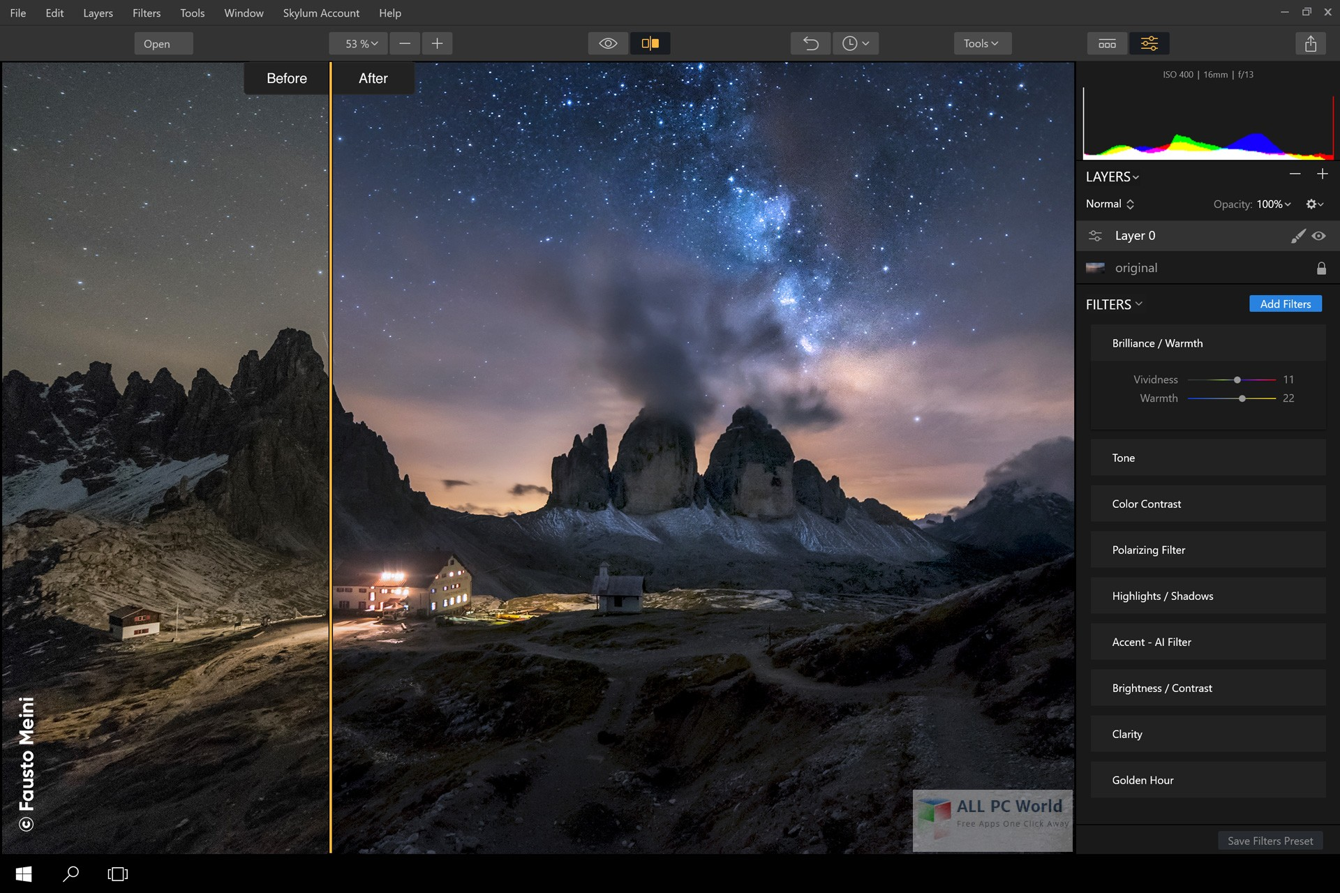 Portable Luminar 2018 1.0 Overview