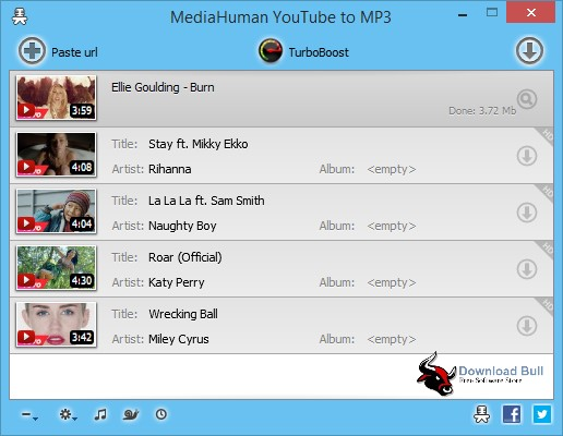 Portable MediaHuman YouTube to MP3 3.9 Overview