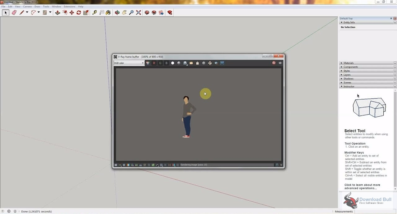 Portable SketchUp Pro 2018 Overview