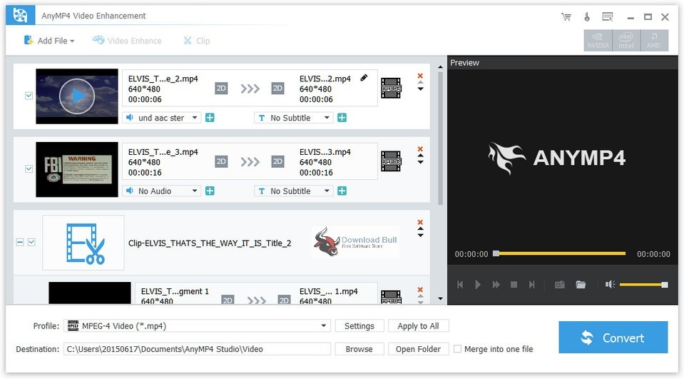 AnyMP4 Video Enhancement 7.2 Overview