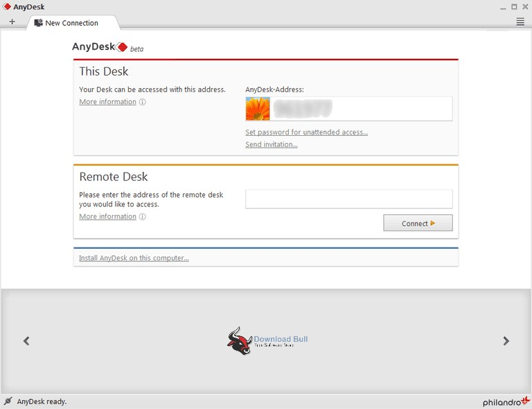 Portable AnyDesk 3.7 Overview