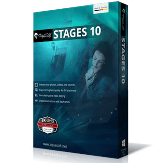 Portable AquaSoft Stages 10.5 Free Download