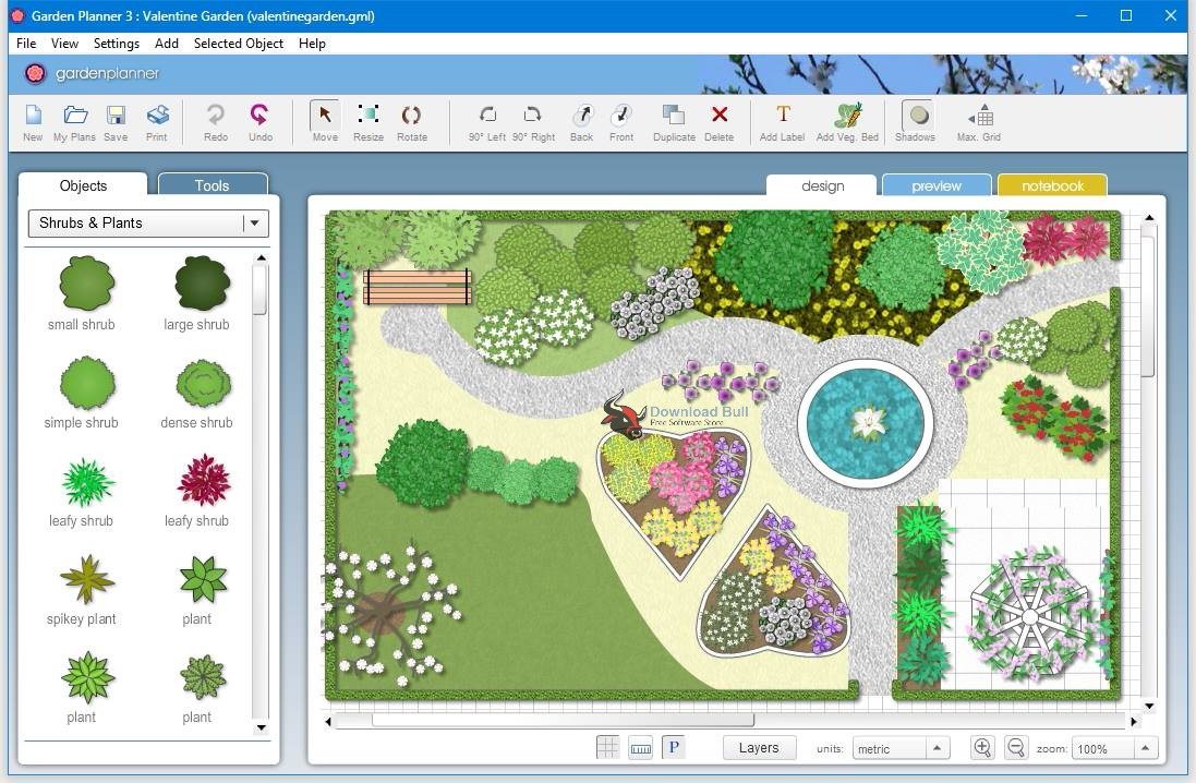Portable Artifact Interactive Garden Planner 3.5 Free Download