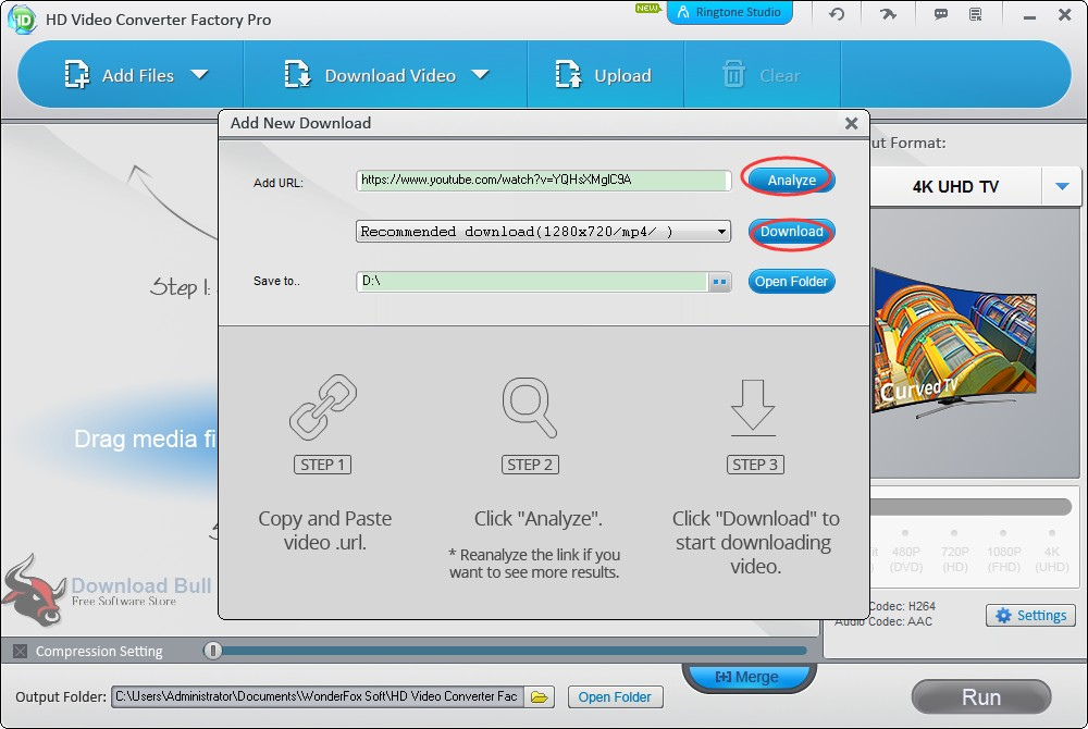 Add files to WonderFox HD Video Converter Factory Pro