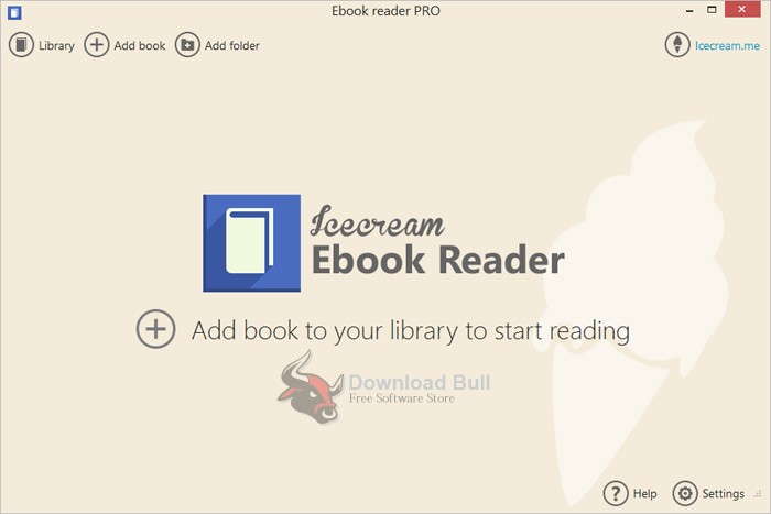 Download Portable IceCream Ebook Reader 5.0 Free