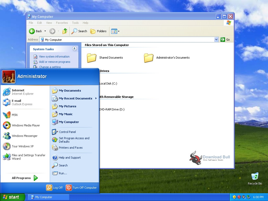 Download Microsoft Windows XP Professional SP3 ISO