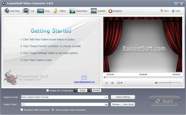 Download Portable EasiestSoft Video Converter 3.8 Free