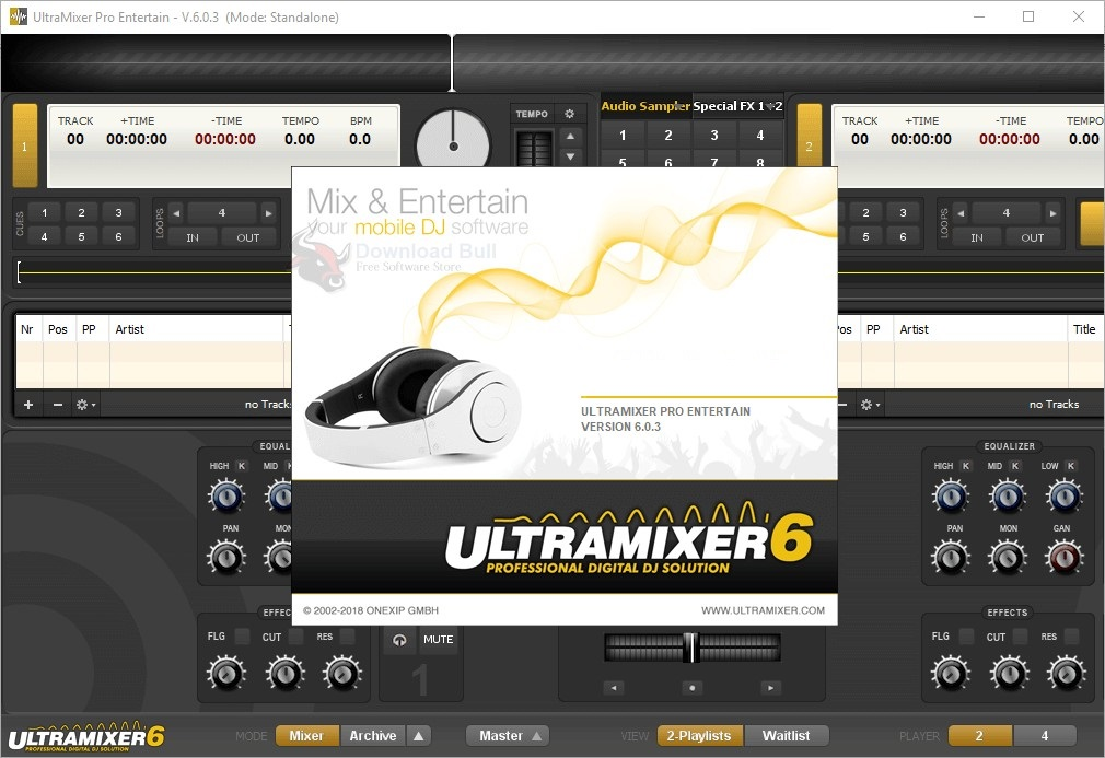 Download Portable UltraMixer Pro Entertain 6.0 Free