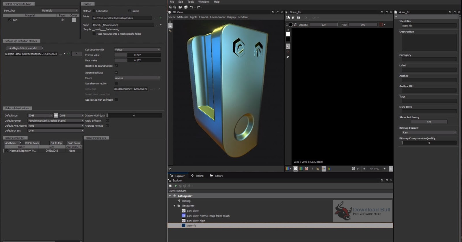 Portable Allegorithmic Substance Designer 2017 Free Download