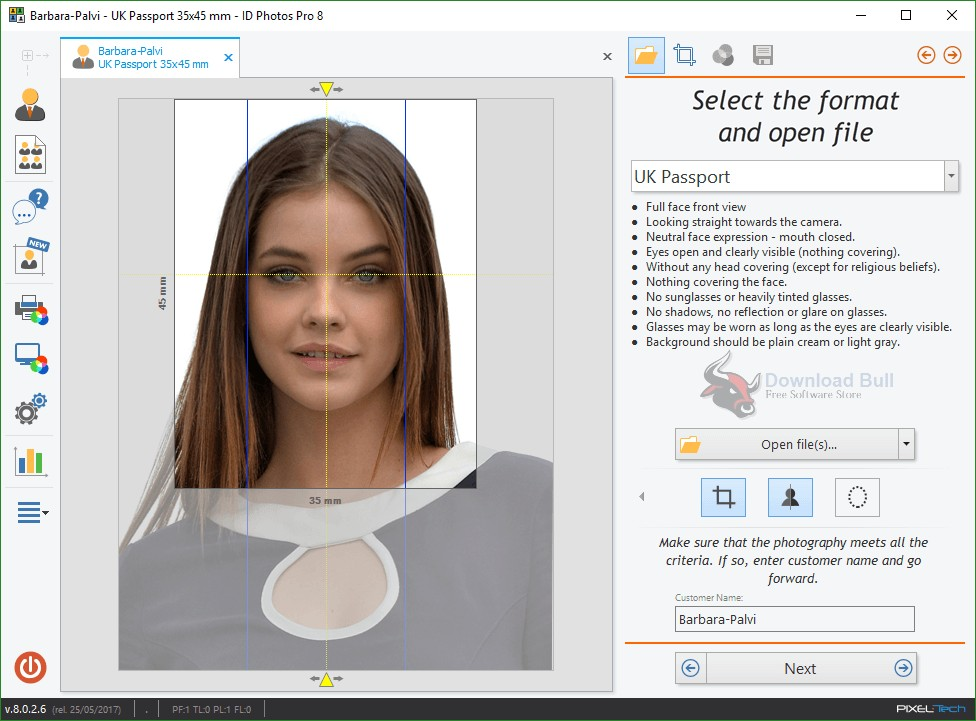 Portable ID Photos Pro 8.0 Free Download
