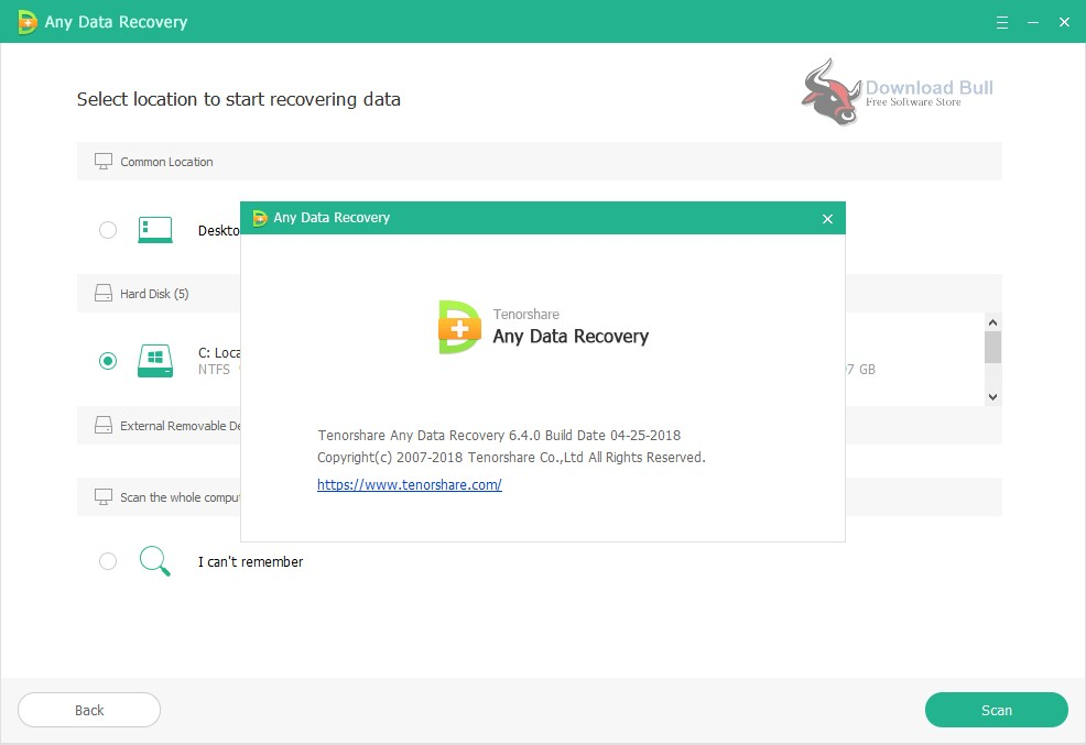 Portable Tenorshare Any Data Recovery Pro 6.4 Free Download