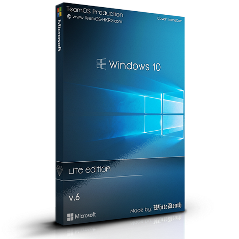 Windows 10 Lite V6 2018 DVD ISO Free Download